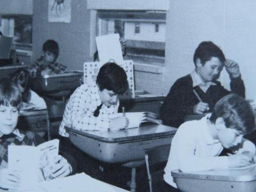 RCCA Class of 1988 - classroom 1982