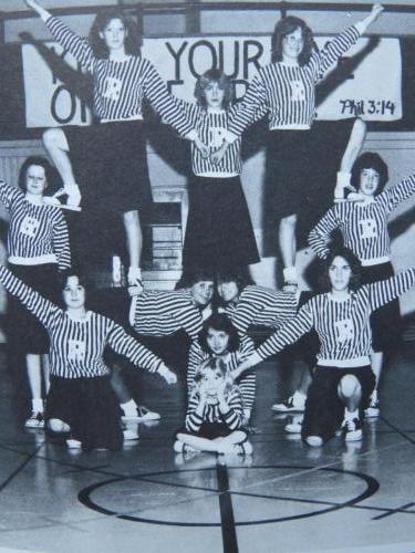RCCA JV Cheerleading 1983