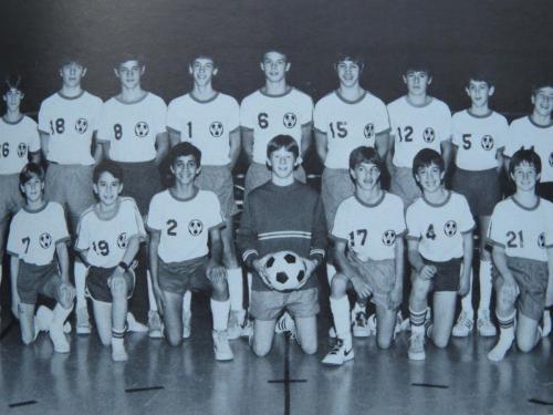 RCCA JV Soccer team 1983