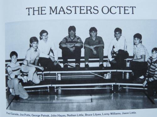 RCCA Masters Octet 1983