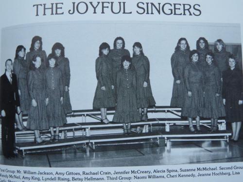 RCCA Joyful Singers 1983