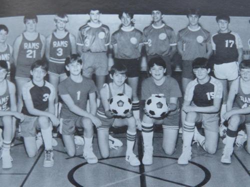 RCCA JV Soccer 1984