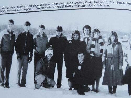 RCCA Ski Club 1984